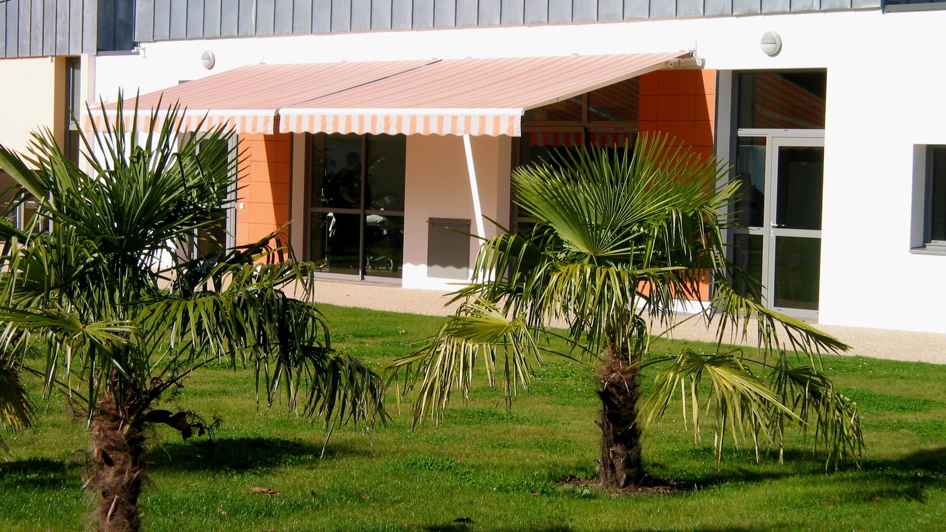 Le Jardin Intérieur Du Centre Ker Arthur De Châteauneuf Du Faou (29)