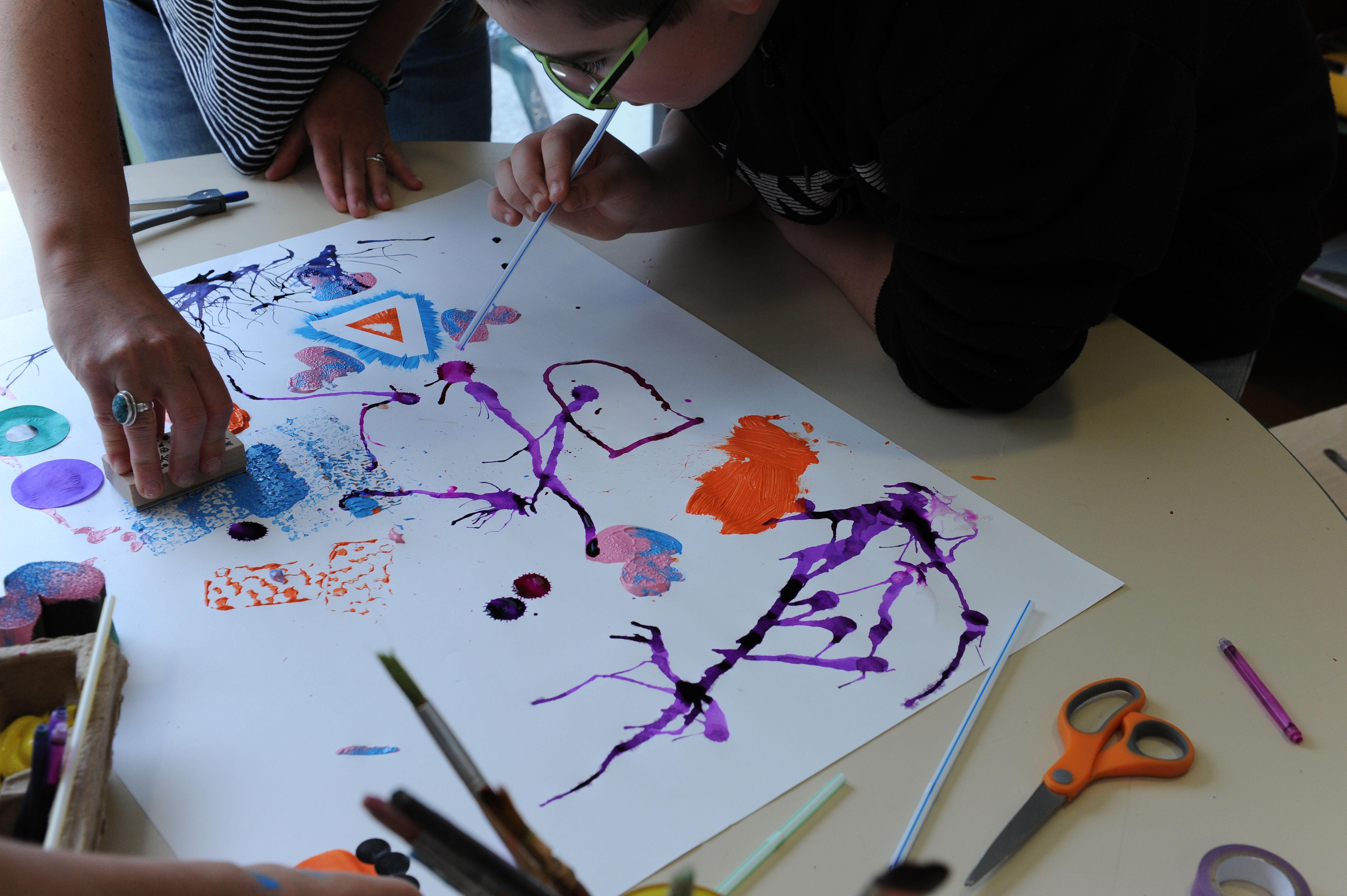 Activité thérapeutique à l'Hôpital de Jour Enfants